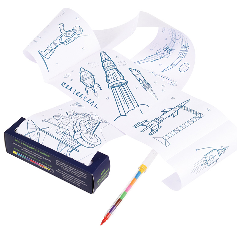 Box Surprise - Cosmonaute - Kit Coloriage bis