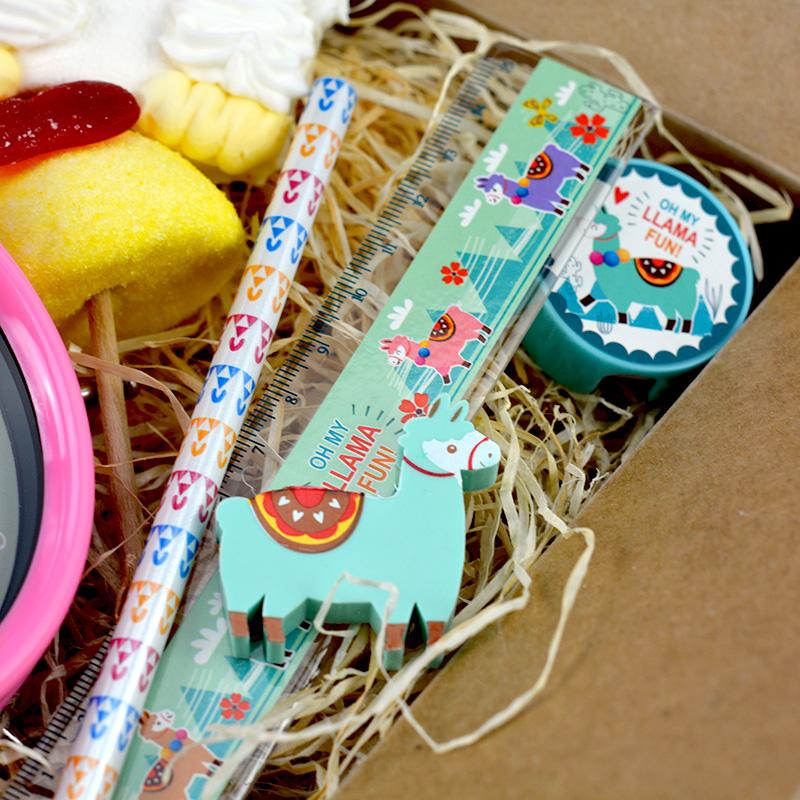 Box Surprise - Lama - set papeterie