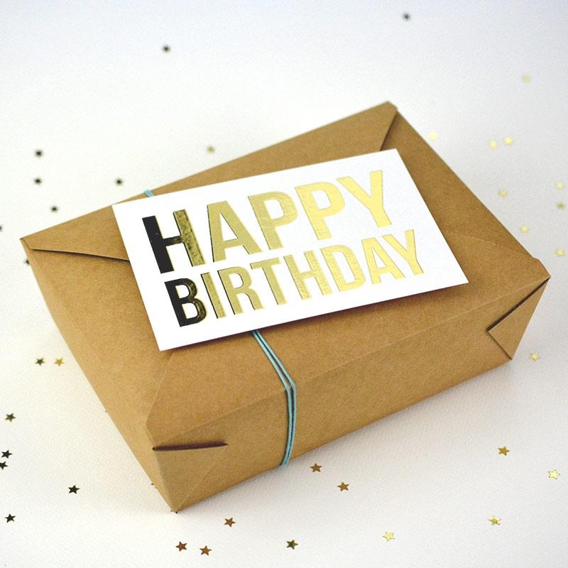 Box - Happy Birthday - The PopCase