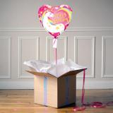 Ballon Cadeau - Happy Birthday - Licorne