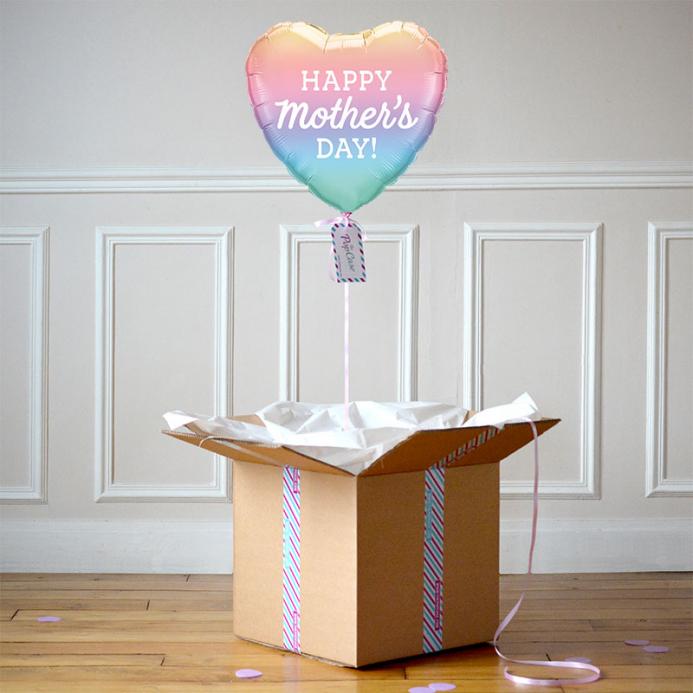 Ballon Cadeau - Fête Des Mères