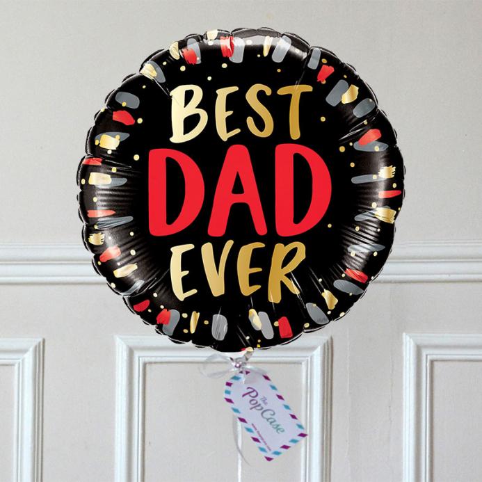 Ballon Cadeau Papa - Best Dad Ever - The PopCase