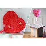 Combo Pinata Love + Ballon I Love You