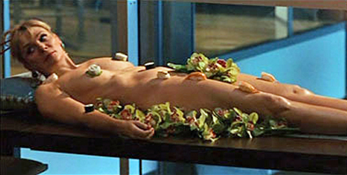 Samantha Jones Nyotaimori