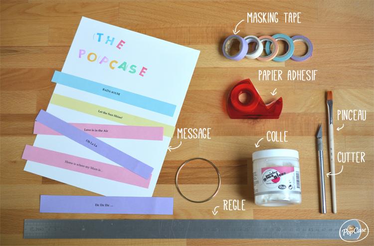Bracelet-Papier-Materiel
