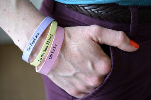 DIY - Bracelet Message - The PopCase