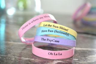 Printable - Bracelet en Papier - The PopCase
