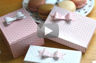 Video - Faire une boite cadeau - The PopCase