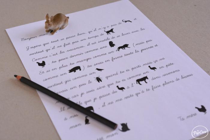 Idees Pour Envoyer Des Lettres Amusantes A Ses Enfants Thepopcase