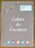 Printable - Couverture cahier de vacances