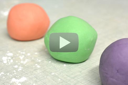 Video - Faire sa Pate à Modeler - The PopCase