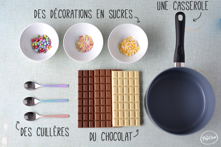 Materiel - Cuillère Chocolat - The PopCase