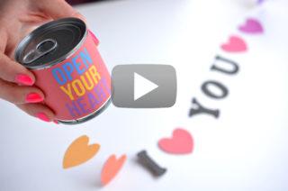 Vidéo - Boite Open Your Heart - The PopCase