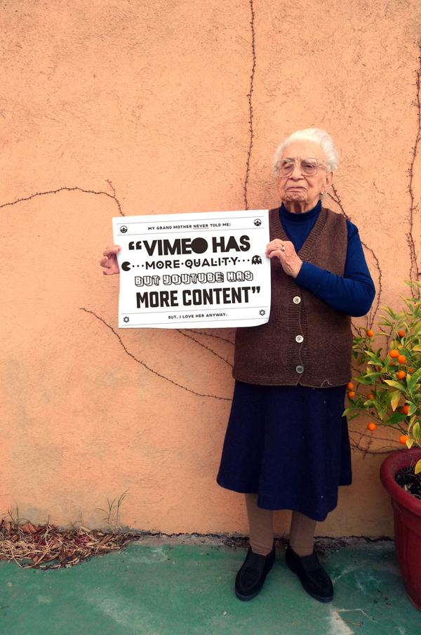 Grandmother Tips Vimeo