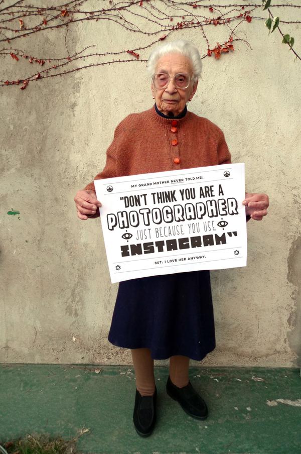 Grandmother Tips Instagram