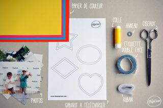 DIY - Faire une Guirlande de Photos