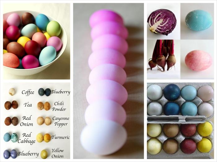 Teinture Oeufs de Pâques