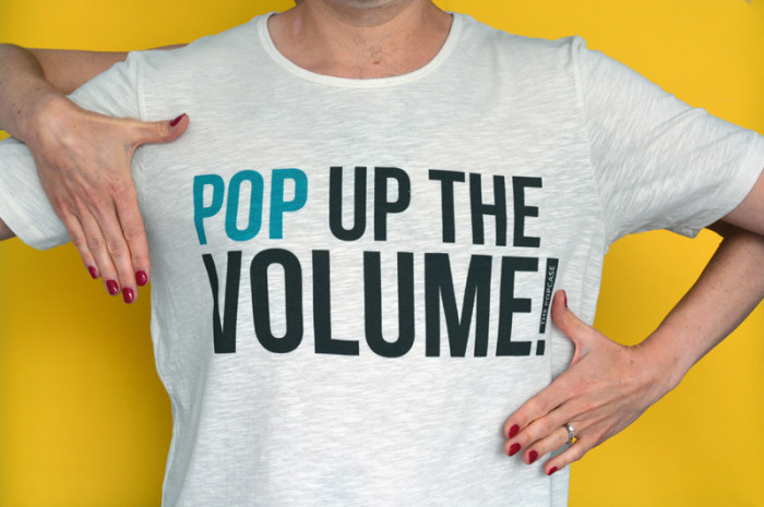 T-Shirt Pop Up theVolume