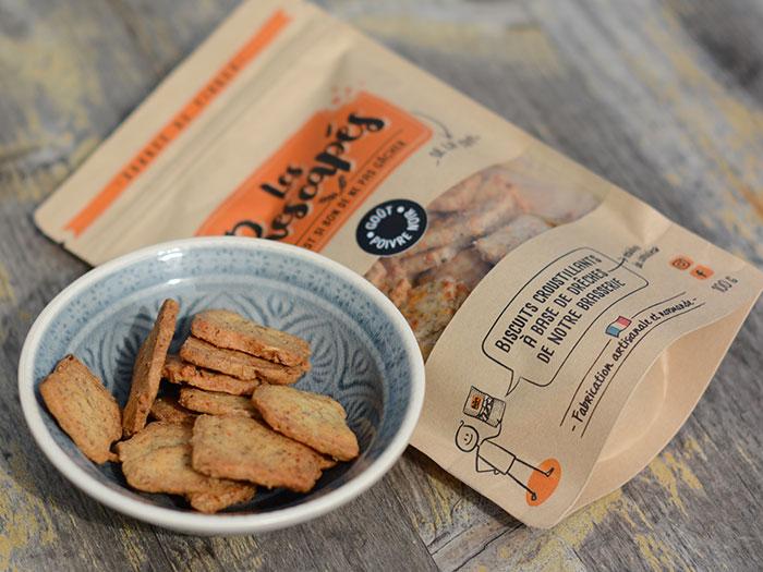 Les biscuits anti-gaspi Les Rescapés