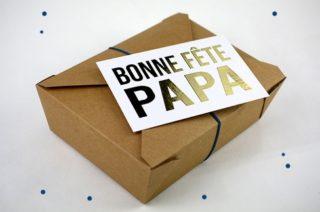 La box cadeau fête des pères 2020
