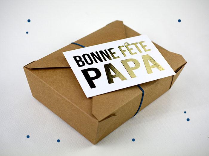 La box cadeau fête des pères.