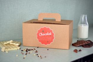 Box chocolat show the Popcase