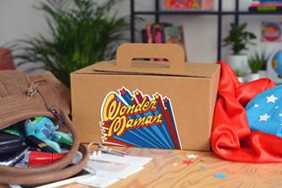 Box Wonder Maman the Popcase