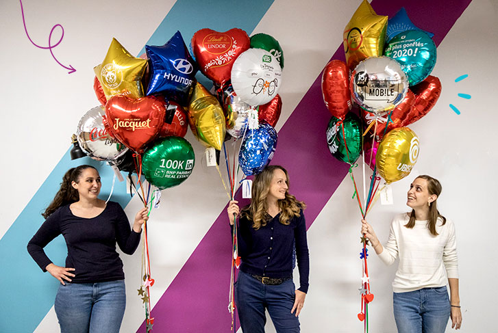 ballon entreprise The PopCase